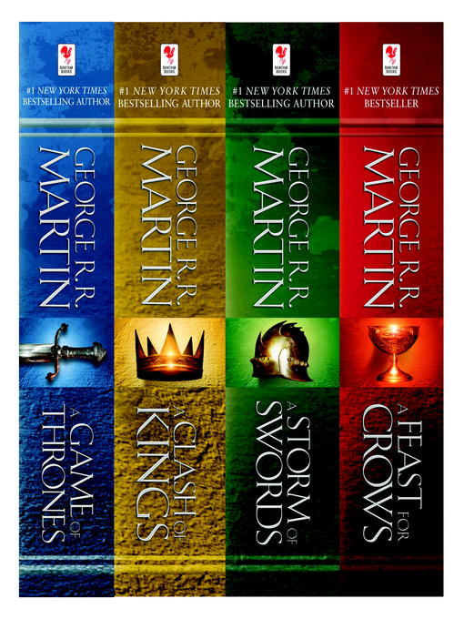 Title details for A Game of Thrones 4-Book Bundle by George R. R. Martin - Wait list