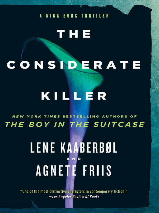 Title details for The Considerate Killer by Lene Kaaberbol - Wait list