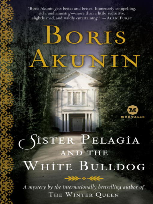 Cover of Sister Pelagia and the White Bulldog