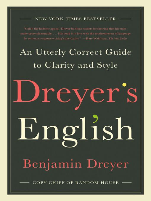 Title details for Dreyer's English by Benjamin Dreyer - Available