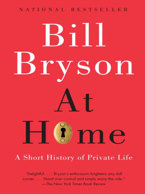 Title details for At Home by Bill Bryson - Wait list