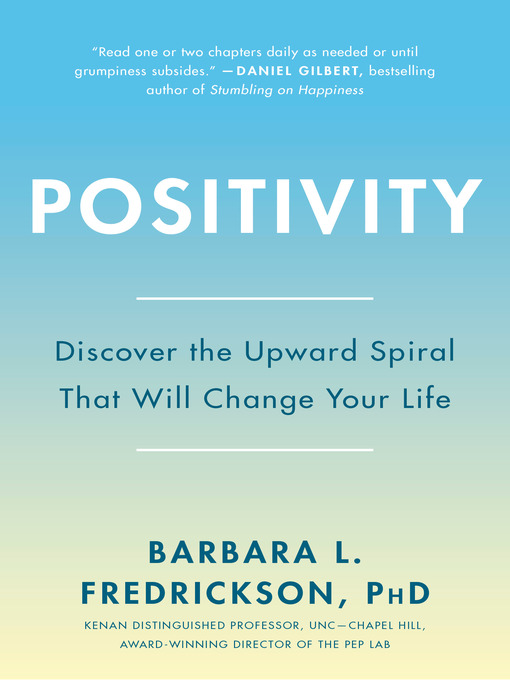 Title details for Positivity by Barbara Fredrickson - Available