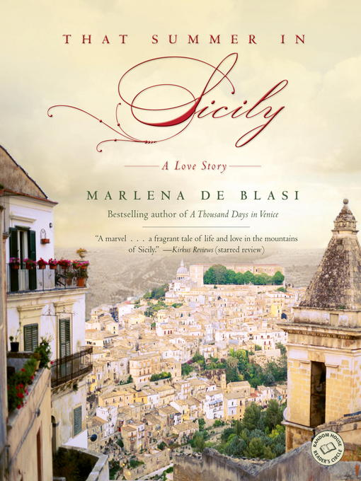 Title details for That Summer in Sicily by Marlena de Blasi - Available
