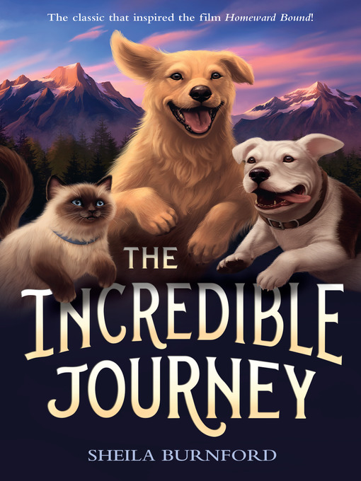Title details for The Incredible Journey by Sheila Burnford - Available