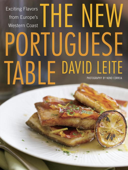 Cover of The New Portuguese Table
