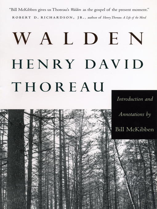 the life influence and literary career of henry david thoreau Emerson spurred on the career of henry david thoreau as is thoreau's guide to a simple life and the influence of emerson in henry david thoreau.