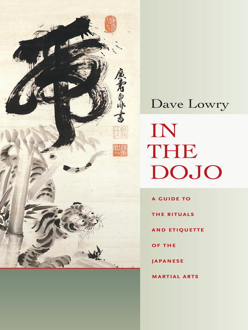 Title details for In the Dojo by Dave Lowry - Available