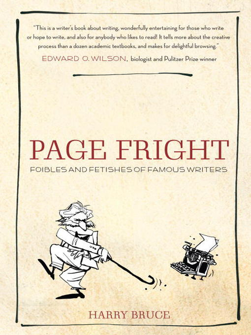 Title details for Page Fright by Harry Bruce - Available