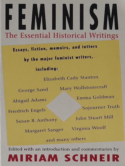feminism paper thesis