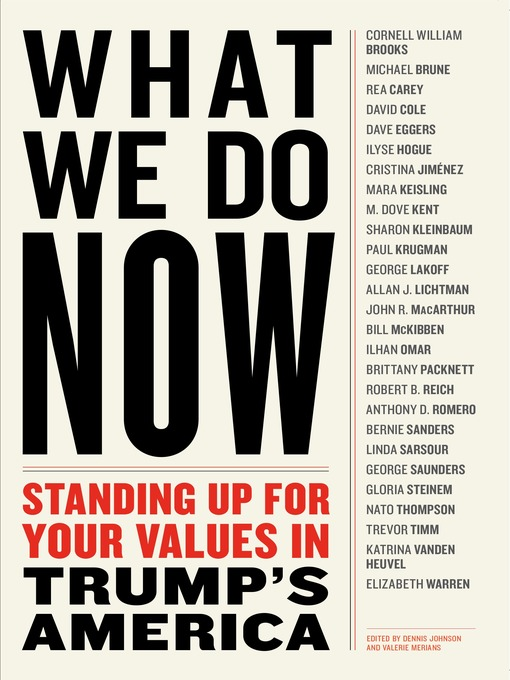 Cover of WHAT WE DO NOW