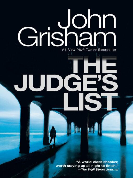 Title details for The Judge's List by John Grisham - Wait list