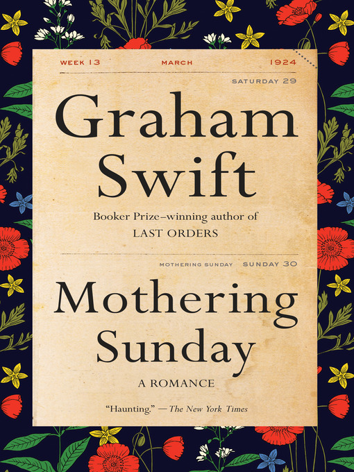 Title details for Mothering Sunday by Graham Swift - Wait list