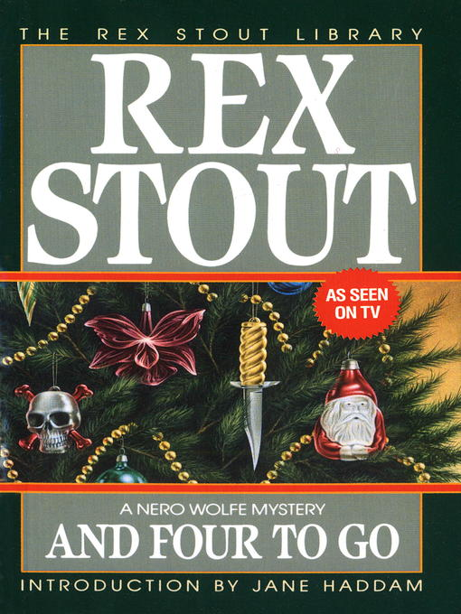Title details for And Four to Go by Rex Stout - Wait list