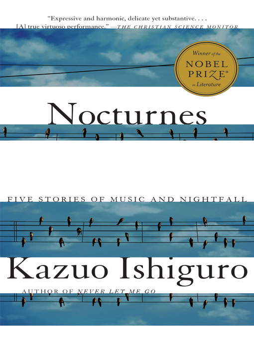 Title details for Nocturnes by Kazuo Ishiguro - Wait list
