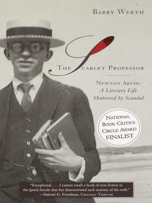 Title details for The Scarlet Professor by Barry Werth - Available