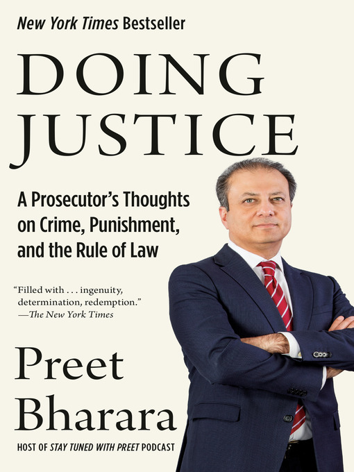 Title details for Doing Justice by Preet Bharara - Available