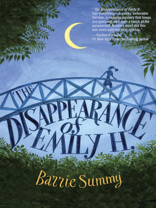 Cover of The Disappearance of Emily H.