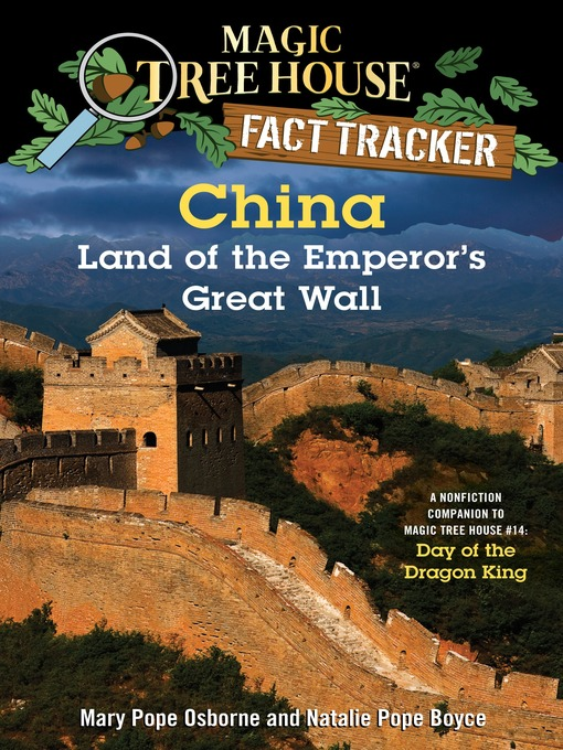 Title details for China: Land of the Emperor's Great Wall by Mary Pope Osborne - Available