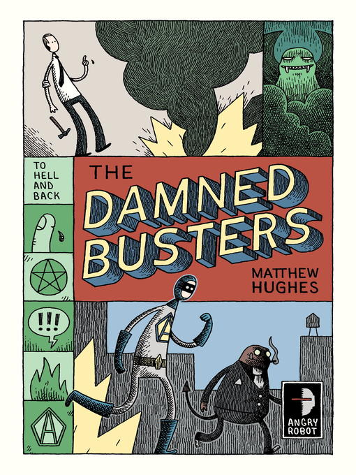 Title details for The Damned Busters by Matthew Hughes - Available