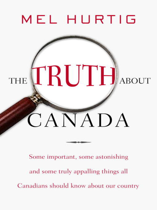 Cover of The Truth About Canada