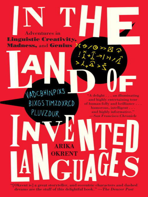 Cover of In the Land of Invented Languages