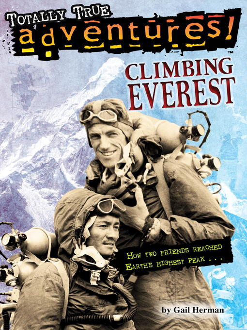 Title details for Climbing Everest by Gail Herman - Available