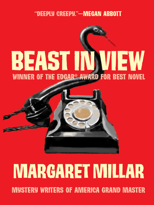 Title details for Beast in View by Margaret Millar - Wait list