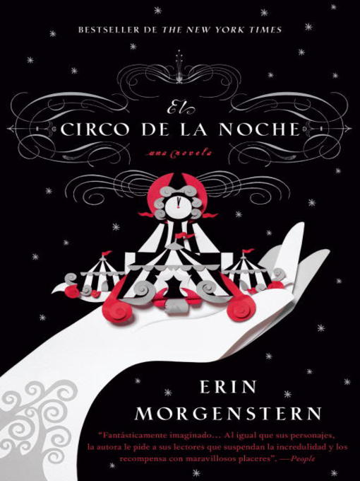 Title details for El circo de la noche by Erin Morgenstern - Available