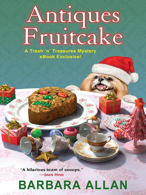 Title details for Antiques Fruitcake by Barbara Allan - Available