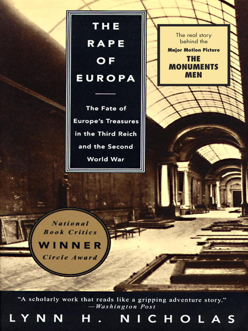 Title details for The Rape of Europa by Lynn H. Nicholas - Available