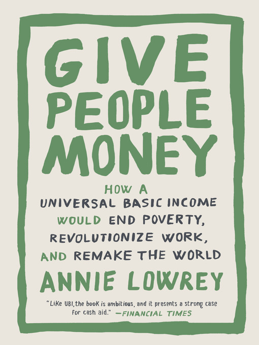 Cover of Give People Money