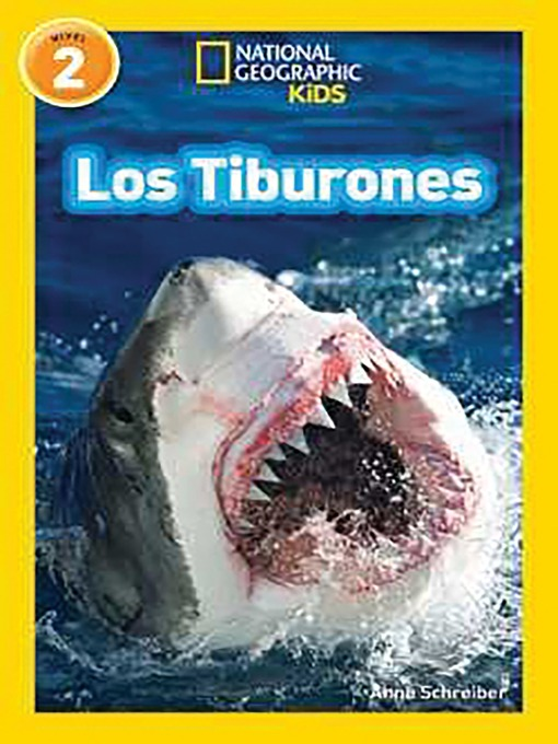 National geographic readers: los tiburones (sharks)