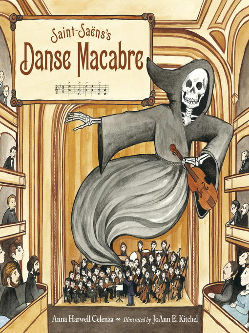 Cover of Saint-Saëns's Danse Macabre