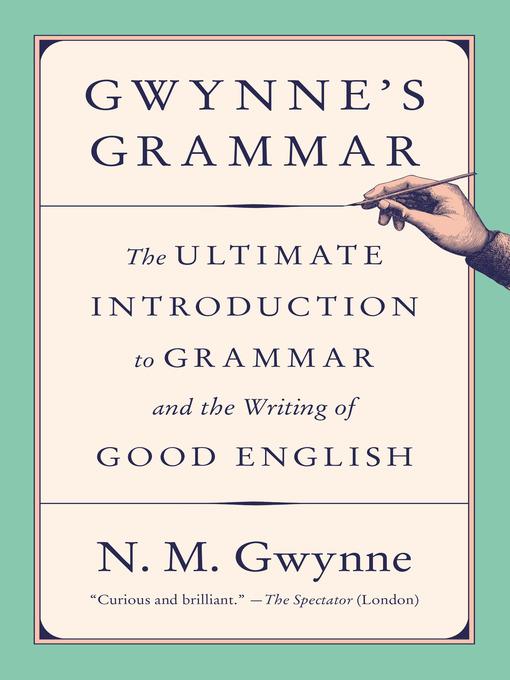 Title details for Gwynne's Grammar by N.M. Gwynne - Wait list
