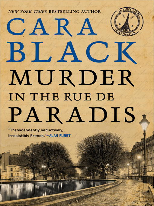 Title details for Murder in the Rue de Paradis by Cara Black - Wait list