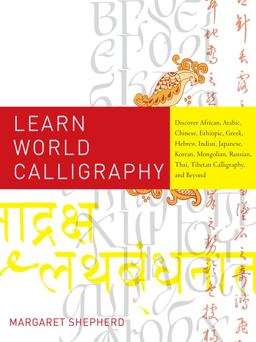 Title details for Learn World Calligraphy by Margaret Shepherd - Available