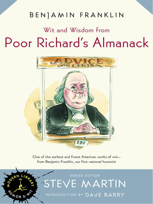 an introduction to the literary analysis of poor richard by franklin Essays and criticism on benjamin franklin - critical essays benjamin franklin short fiction analysis (literary essentials: benjamin franklin poor richard's.