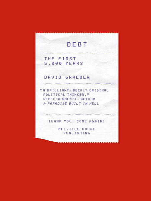 Title details for Debt by David Graeber - Available