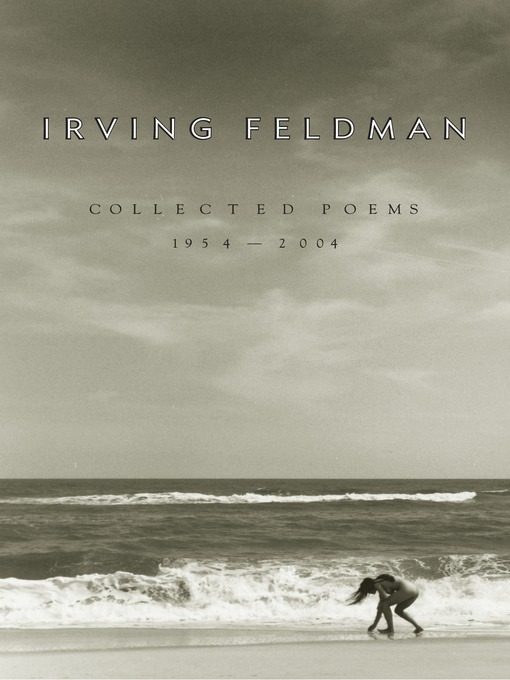 Cover of Collected Poems, 1954-2004