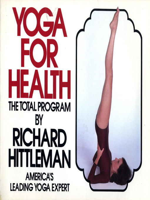 Title details for Yoga for Health by Richard Hittleman - Wait list