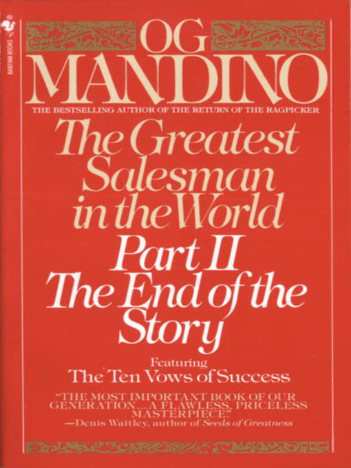 Cover of The Greatest Salesman in the World, Part II