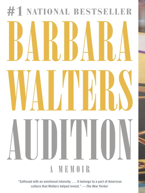 Title details for Audition by Barbara Walters - Available