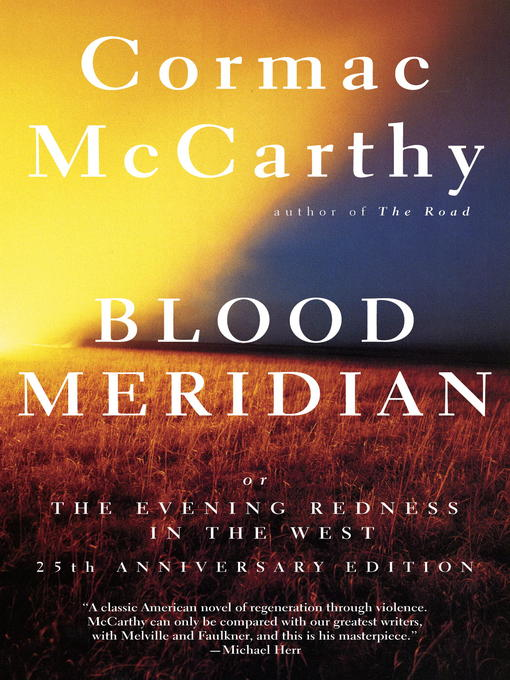 Cover of Blood Meridian