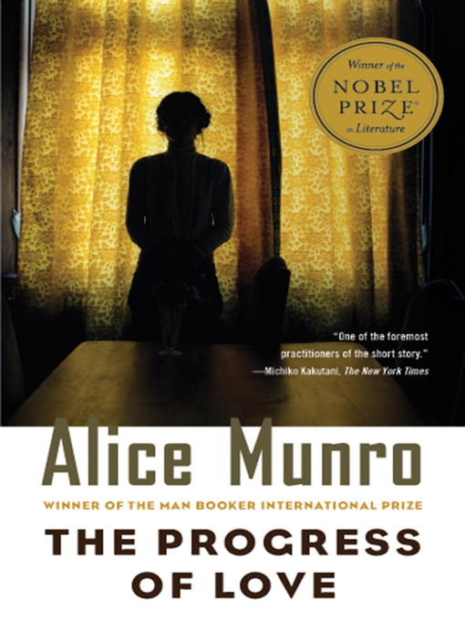 Title details for The Progress of Love by Alice Munro - Wait list