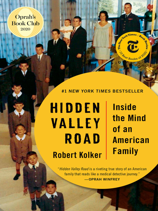 Title details for Hidden Valley Road by Robert Kolker - Available