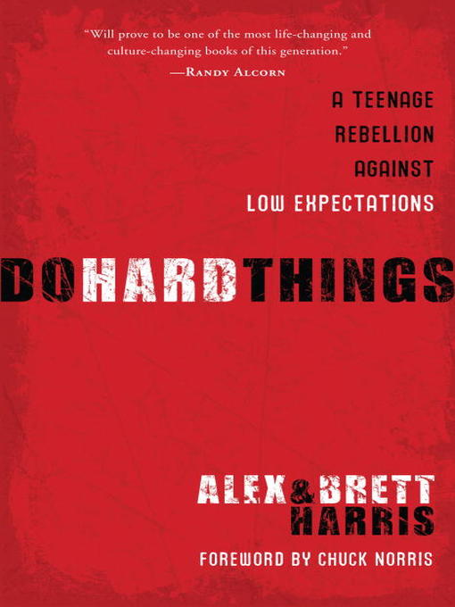 Title details for Do Hard Things by Alex Harris - Available