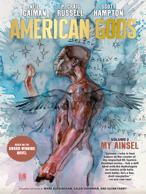 Cover of American Gods Volume 2