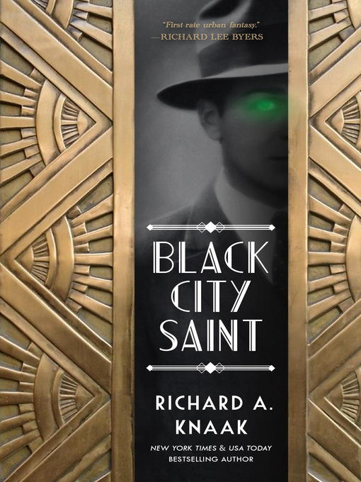 Title details for Black City Saint by Richard A. Knaak - Wait list