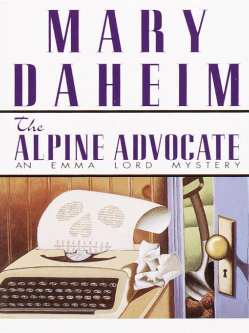 Title details for The Alpine Advocate by Mary Daheim - Wait list