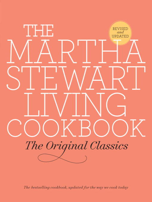 Cover of The Martha Stewart Living Cookbook